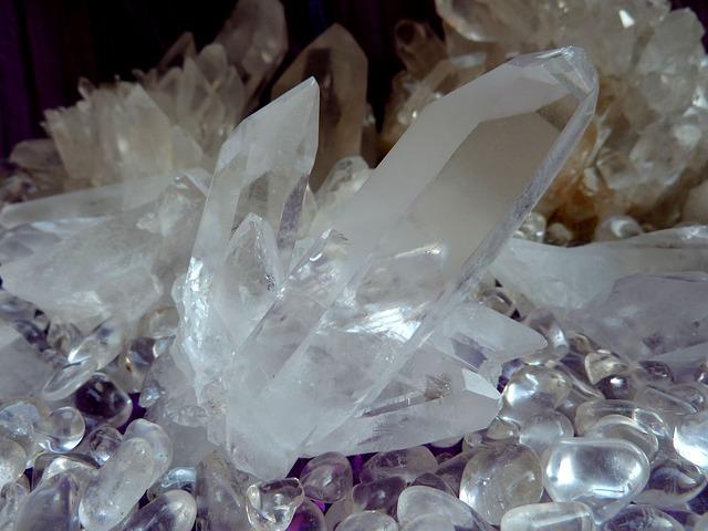 purifier et charger les pierres
