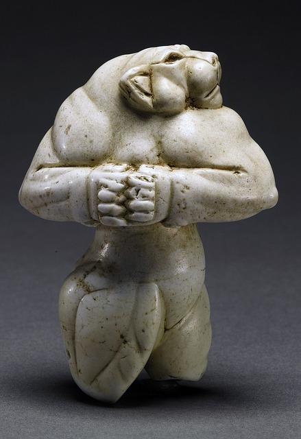statue en magnésite